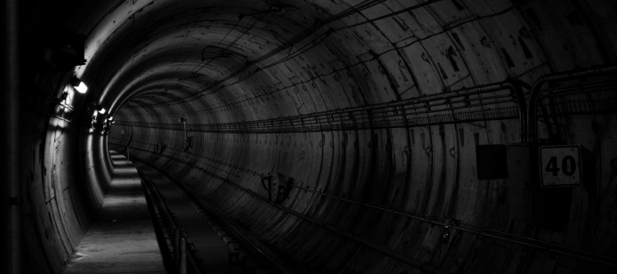 subway tunnels